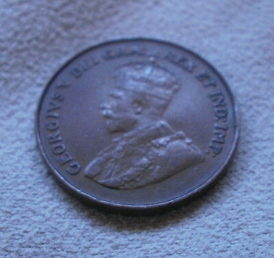 1920 Canada Canadian small cents one cent coin penny