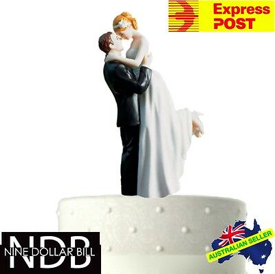True Romantic Couple Classic Wedding Bride and Groom Cake Topper FAST POST