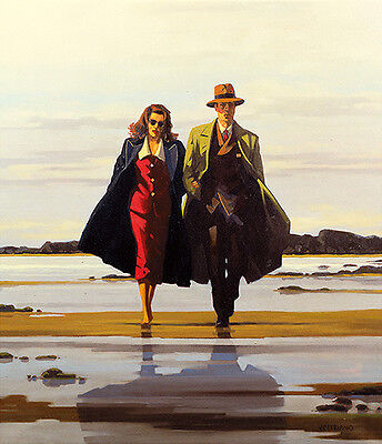 'The Road to Nowhere' by Jack Vettriano - High Quality Print