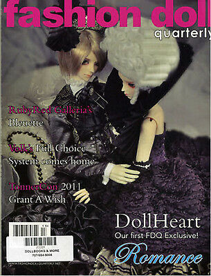 Fashion Doll Quarterly FDQ Autumn 2011 Bleuette, DollHeart Gene Tonner Volks