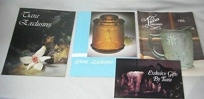 Indiana TIARA EXCLUSIVES GLASS Collectible BOOK Catalog BOOKLET pamphlet LOT