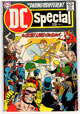 Dc Special #5 7.5 White Pages Silver Age Secret Lives Of Joe Kubert