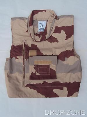 NEW French Military Desert Camouflage Camo Flak Jacket / Vest / Paintballing