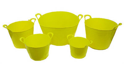 Flexi Tub / Bucket / Trug - Available In 5 Sizes, Choose Your Colour - Uk Made!!