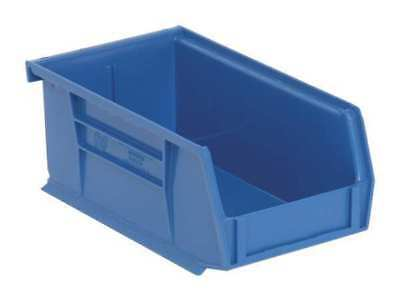 "Blue Hang and Stack Bin, 7-3/8""L x 4-1/8""W x QUANTUM STORAGE SYSTEMS QUS220BL"