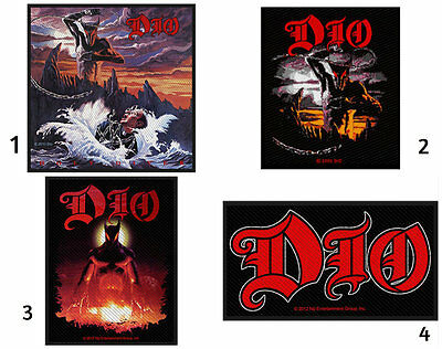 DIO Sew On Patch/Patches NEW OFFICIAL. Choice of 4 designs