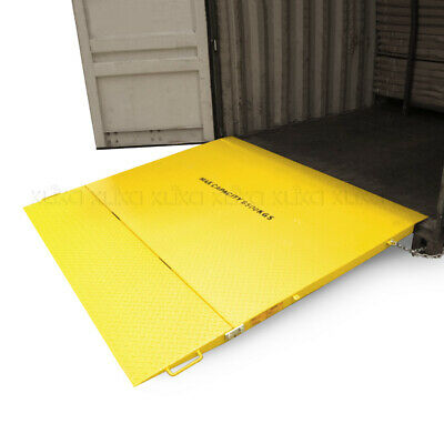 NEW 2m 6.5t FOLDING CONTAINER RAMP for FORKLIFT LOADING CARGO SHIPPING