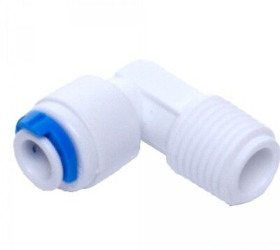 """2X Quick-Fit Water Filters + Reverse Osmosis 1/4""""NPT [12mm] to 1/4"""" Tube [6mm]"""