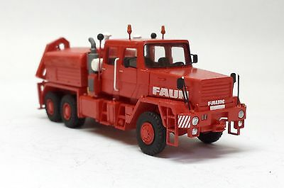 1:87 Faun HZ 40.45/45W 6x6 with crane - Handbuilt resin model