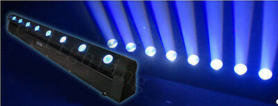 New Fly case + 2pcs 8x10W CREE RGBW 4in1 LEDs Beam Moving Head Bar Lights