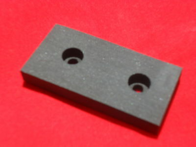 Brake pad block to suit rover colt, ranger and rancher ride on mowers