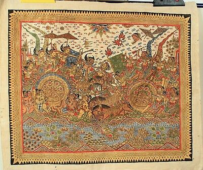 Traditionelle Malerei Bali traditional painting Kamasan K9