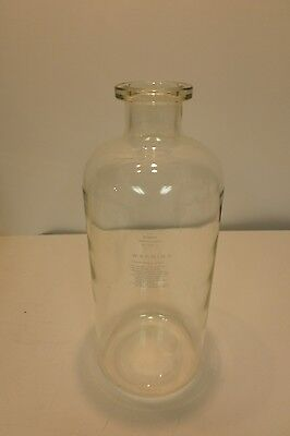 Corning PYREX 2.5gal 9.5L Carboy Style Glass Heavy Wall Solution Bottle