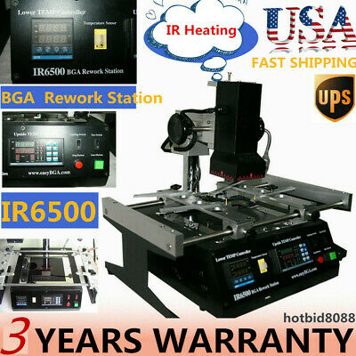 Upgraded BGA Air Infrared Rework Station Reflow Reball Fit XBOX 360 PS3 US BEST