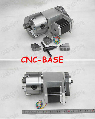 K11 100mm four axis 4th axis 4 axis rotary axis rotation axis for cnc router