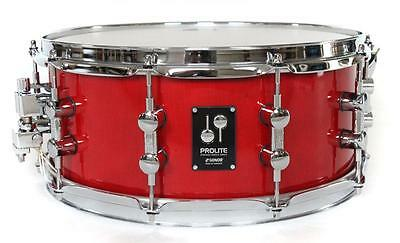 """Sonor Prolite Snare 14"""" x 6"""" Ruby Red, Auslaufmodell"""