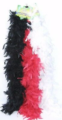 Outrageous Feather Boa | 150cm ASSORTED COLOURS HEN PARTY FANCY DRESS DRAG