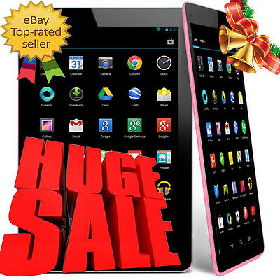 """9"""" Inch Quad Core Camera Capacitive WIFI Android 4.4 Kitkat Allwinner Tablet PC"""