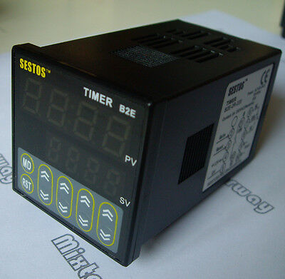 Profession Digital Twin timer 4 Digitals Timer delay Relay 2 Omron Relay Output