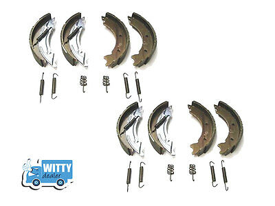 250x40 Trailer Brake Shoes X2 Knott type set - Ifor Williams,Brian James