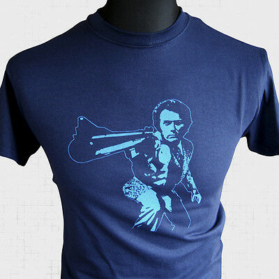 Clint Eastwood Dirty Harry t-shirt BY ANY MEANS NECESSARY QUOTE GEEK CULT FILM