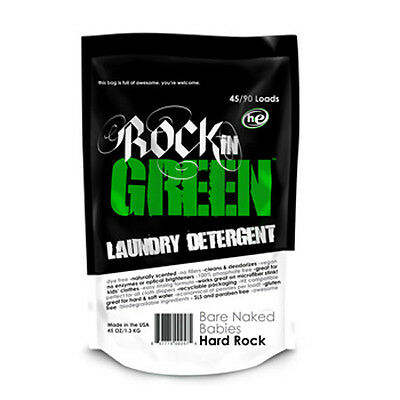 Rockin' Green Hard Rock Laundry Detergent Cloth Diapers Hard Water HE - 942752