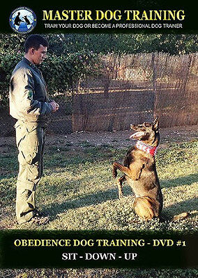 Dog Training Obedience DVD #1 - Command: SIT, DOWN, UP