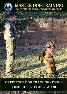 Obedience Dog Training DVD #2 - Commands: Come - Heel - Place - Aport