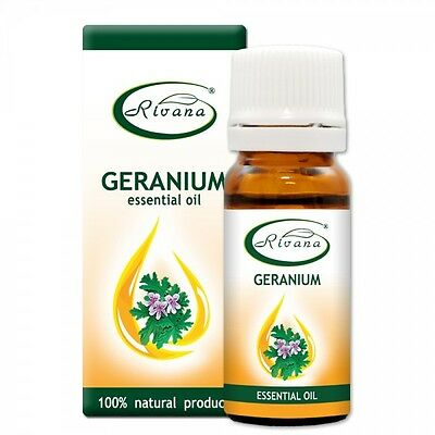 100% NATURAL Essential OIL Geranium - Pelargonium graveolens 10ml Fast Shipping