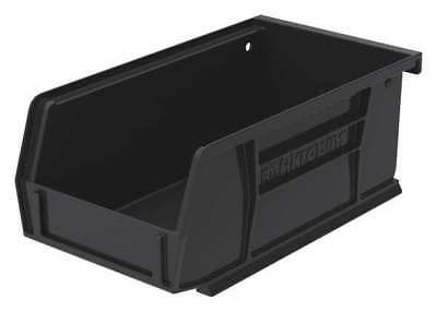 "Black Conductive Stack and Hang Bin, 7-3/8""L x 4-1/8""W x 3""H AKRO-MILS 30220ESD"