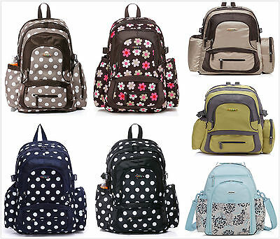 New Pretty Baby Diaper Nappy Bag Backpack mummy bag (045)