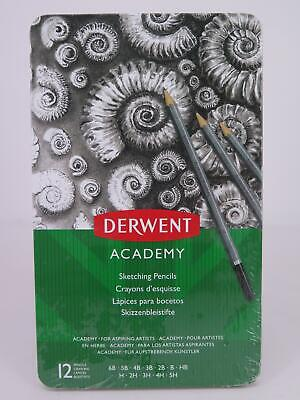 12 Pack Derwent Academy Sketching Pencil Set 2301946