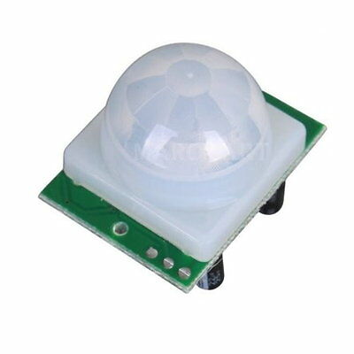 Mini Adjust IR Pyroelectric Infrared PIR Motion Human Sensor Detector Module UK