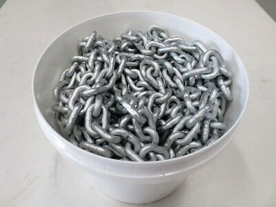Anchor Chain - 6mm - short link galvanised -  sold in units of 6 meters