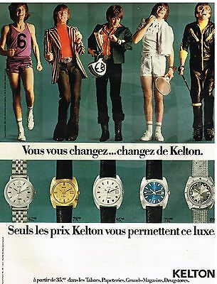 Collectibles Publicité Advertising 1972 Les Mouchoirs Polivé