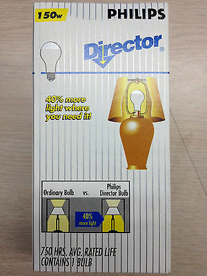 12 Philips 323576 150A21/dl Director Light 750 Hour Operate Base Down Lamp