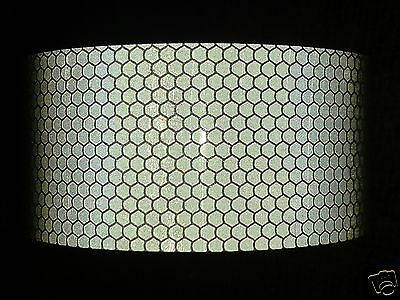 10M X 50Mm Orafol High Intensity Reflective Tape Silver Self Adhesive Vinyl