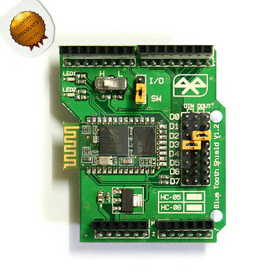 Stackable Bluetooth Shield Support Master/Slave Role Mode for Arduino