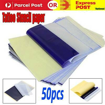 50 Pcs High Quality 4 layers A4 Size Tattoo Stencil Thermal Transfer Paper New
