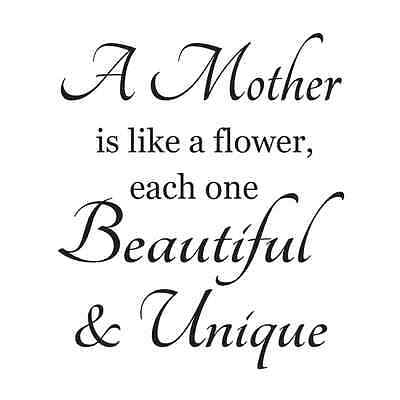 Primitive Mother STENCIL*A Mother is like..*for Signs Crafts Scrapbook Airbrush