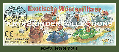 BPZ kinder cavalier exotique Rhino et Ronni 653721 Allemagne 1995
