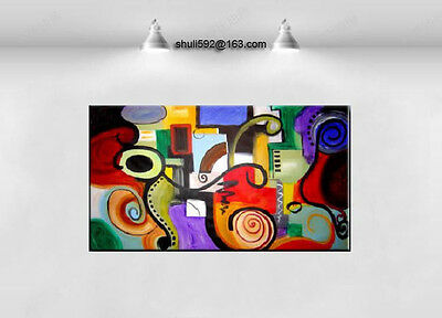 Details about  Modern Abstract Wall Decor hand-painted Oil Painting large canvas