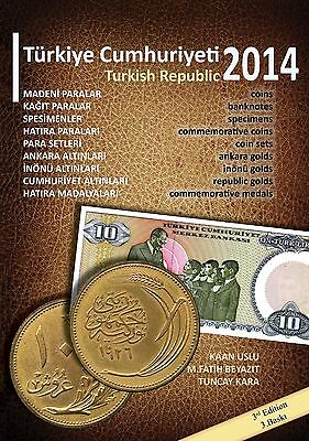 ** NEW ** Turkish Republic Coins and Banknotes 2014 Pocket Catalogue