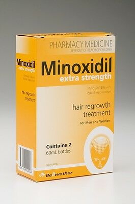 Minoxidil Extra Strength 5% 60ml (2 months supply)