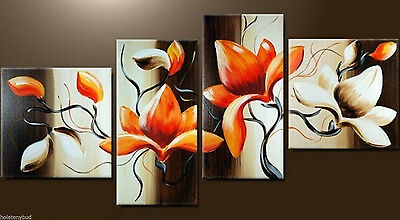 Details about  NEW - MODERN ABSTRACT HUGE WALL ART OIL PAINTING ON CANVAS (No f