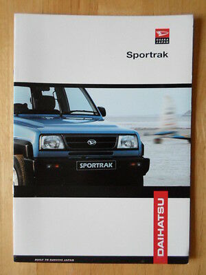 1993 Daihatsu Sportrak ELXi related infomation,specifications