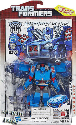 Hasbro Transformers Generations 30th Anniversary IDW Deluxe Autobot Skids AU