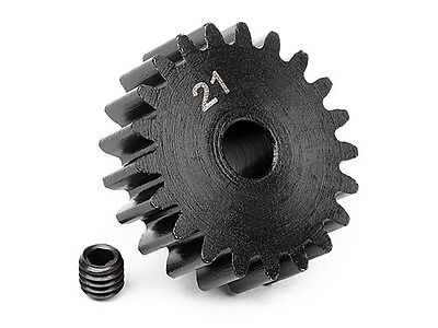 HPI SAVAGE FLUX PINION GEAR 21 TOOTH MOD 1 (1M/5mm SHAFT) 100920