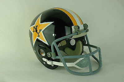 1974 WFL New York Stars Suspension Football Helmet