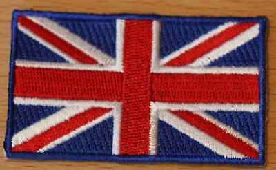 UK UNITED KINGDOM Country Flag Embroidered PATCH